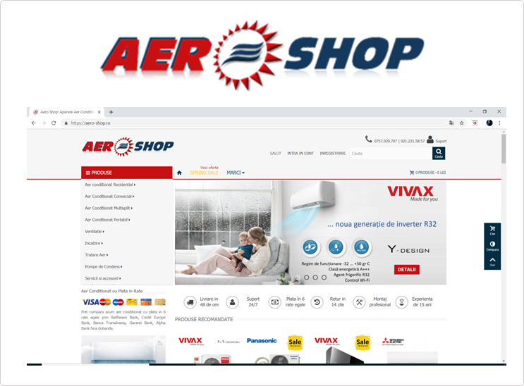 AERO-SHOP.ro Aer Conditionat Online